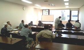 半田緑化研究会の勉強会です。