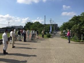 半田運河の会 草刈ボランティアです。