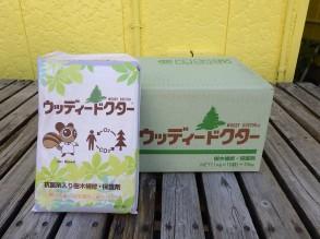 ウディードクター 樹木の補修剤です。